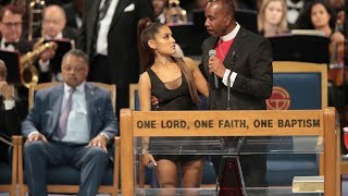 Bishop Charles Ellis III apologizes for embracing Ariana Grande - Livestream