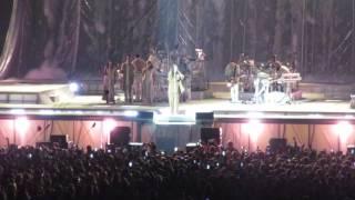 Rihanna, Love on the Brain live concert Anti World Tour in Amsterdam