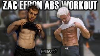 I Tried Zac Efron's Six-Pack Abs Workout | SHRED40 - Ep. 11