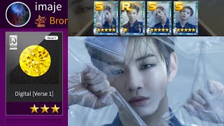 Digital Verse 1 Full SP w LE Hard mode 3 stars gameplay