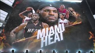 Miami Heat 2014 Playoffs Game 1 Intro | CHA vs MIA