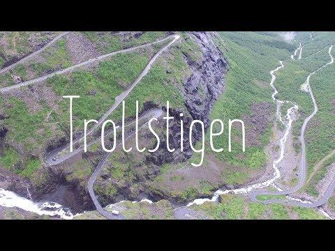 Zig zag road - Trollstigen in Norway