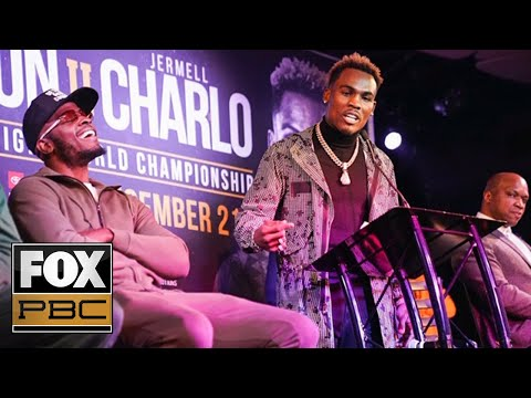 Tony Harrison vs. Jermell Charlo II Full Press Conference   PBC ON FOX