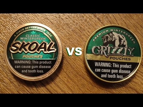 Skoal Pouches Review & Comparison - YouTube