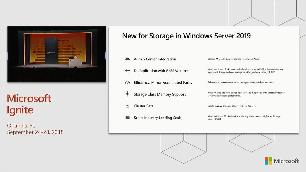 BRK2241 - Windows Server 2019 deep dive · DataON Storage