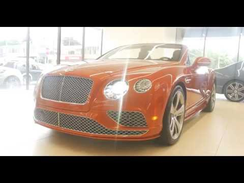 2016 Bentley Continental GT Speed Convertible – Vancouver Canada