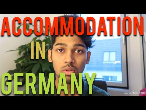 ACCOMMODATION IN GERMANY FOR STUDENTS(REAL TIME FILING OF AN APPLICATION)