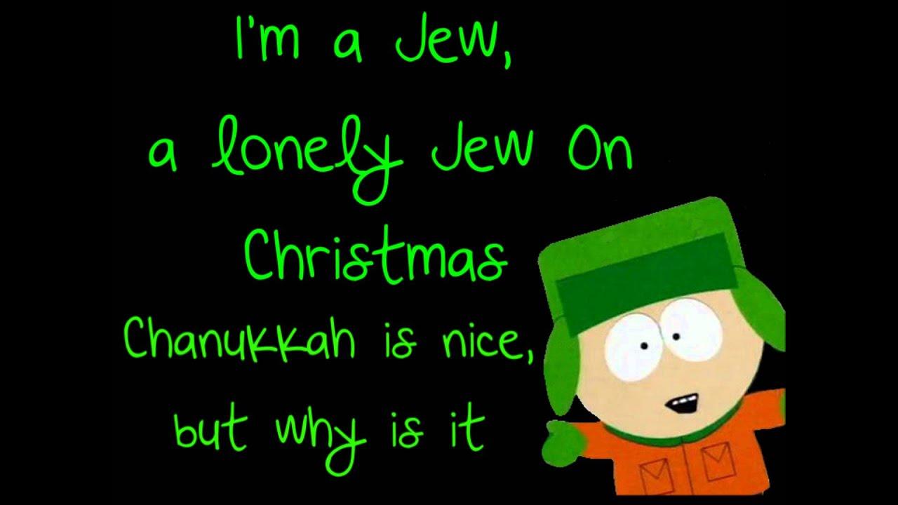 South Park - The Lonely Jew On Christmas LYRICS - YouTube