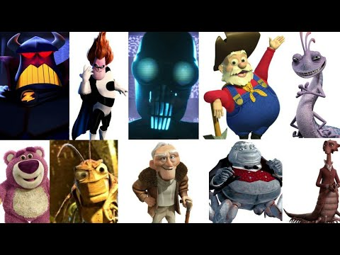 Defeats of My Favorite Pixar Villains