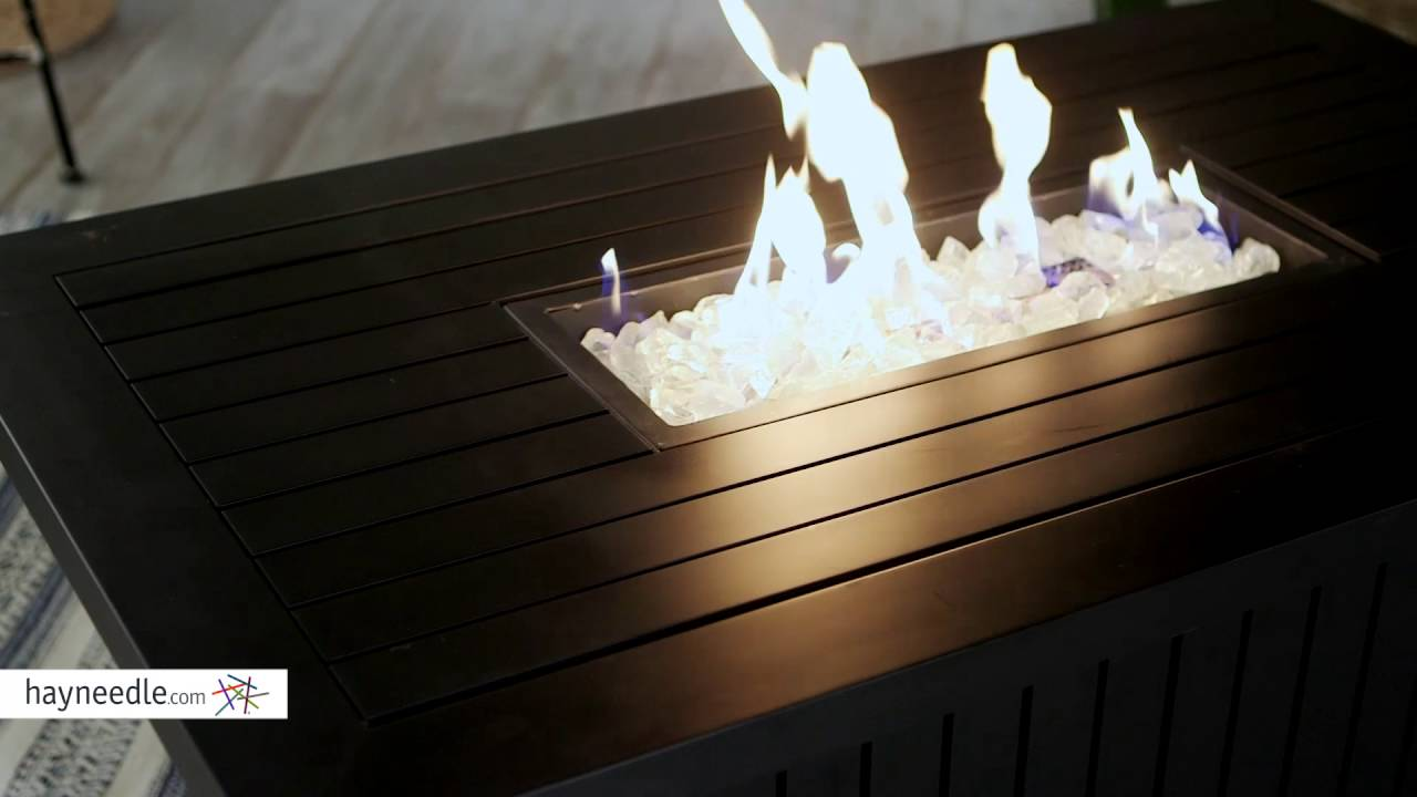 Endless Summer Aaron Slate LP Fire Table   Product Review Video   YouTube