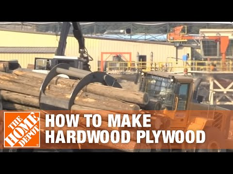 Hardwood Plywood-How It's Made | The Home Depot