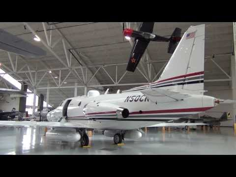 Detailed Views of the Only Sabreliner 50 Built!