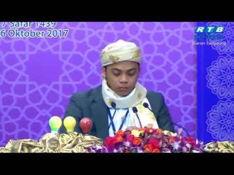 Musabaqah Tilawah Asean di Brunei 24 Oktober 2017