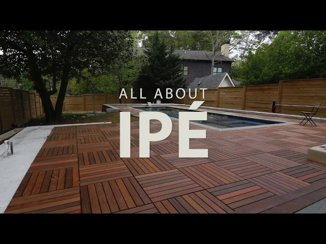 All About Ipe- Ipe Decking and Siding