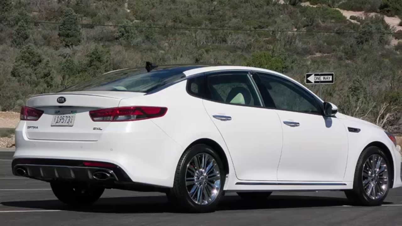 KIA optima 20T 2016 Turbo Model with 6 speed Automatic  YouTube