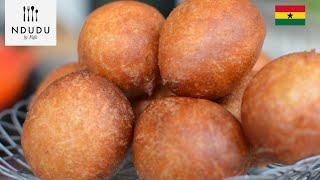 How to make the perfect Ghanaian Doughnut (Boflot)
