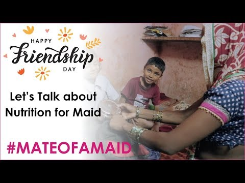 A day in a life of a Maid's Kids & their nutrition - Campaign #mateofmaid