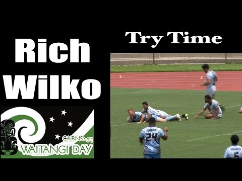 2017 Rich Wilko Try ~ Waitangi Day Cairns ~ Rugby League