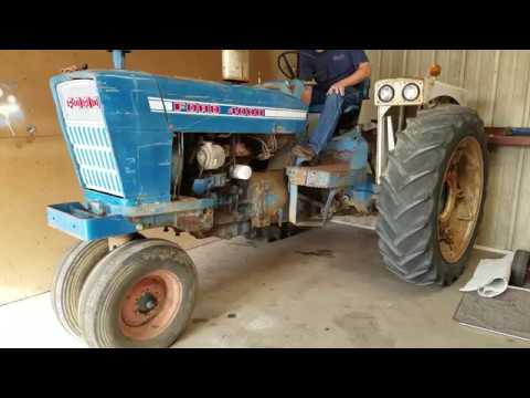 1969 Ford 4000 Tractor Diesel 8 Spd Trans Narrow Front