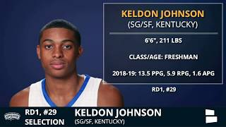 san-antonio-spurs-pick-keldon-johnson-from-kentucky-with-pick-29-in-1st-round-of-2019-nba-draft