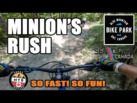 Blue Mountain Minion's Rush Sea Otter Canada 2019 - YouTube