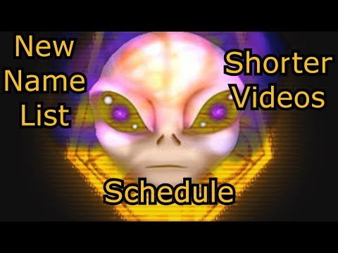 New Name List, Shorter Videos & Schedule | Catch-Up