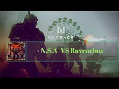 N S A- VS Ravenclaw #3 || Clan war || Destination || Warface