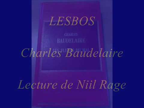 LESBOS de Baudelaire. Lecture type ASMR, relaxation.