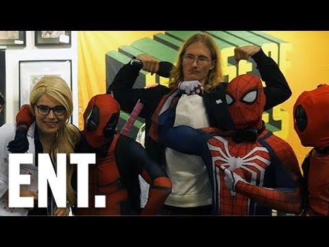 Marcus möter - Comic Con 2017 (träffar Pamela Anderson!!)