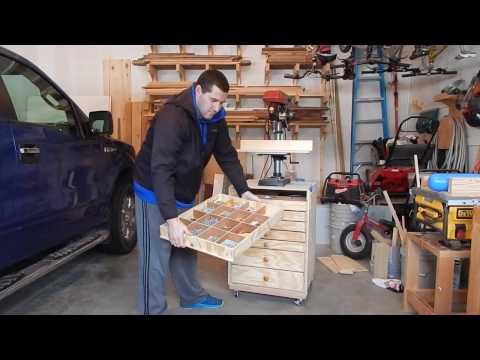 Drill Press Stand / Tool Storage