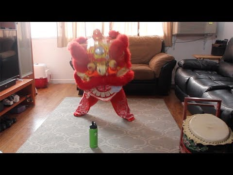 Lion Dance Practice and Drumming Practice - 동영상