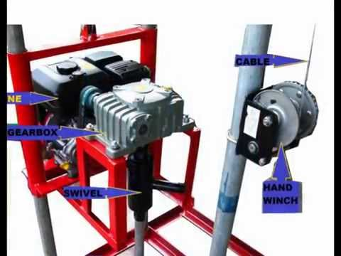 PORTABLE TUBEWELL DRILLING MACHINE