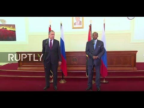 LIVE: Lavrov and Angolan counterpart give press conference in Luanda