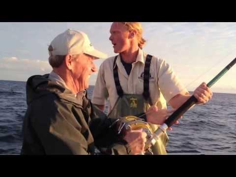 Giant Bluefin Tuna Charter - Big School Feeding Frenzy