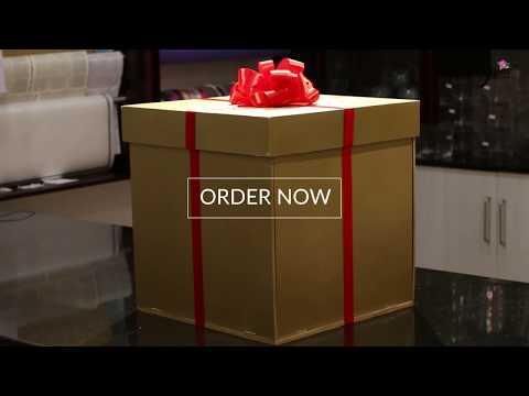 Surprise Flower Gift Box by June Flowers Dubai
