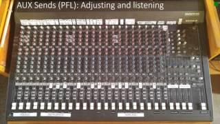 Sound Board Basics: Auxiliary Sends