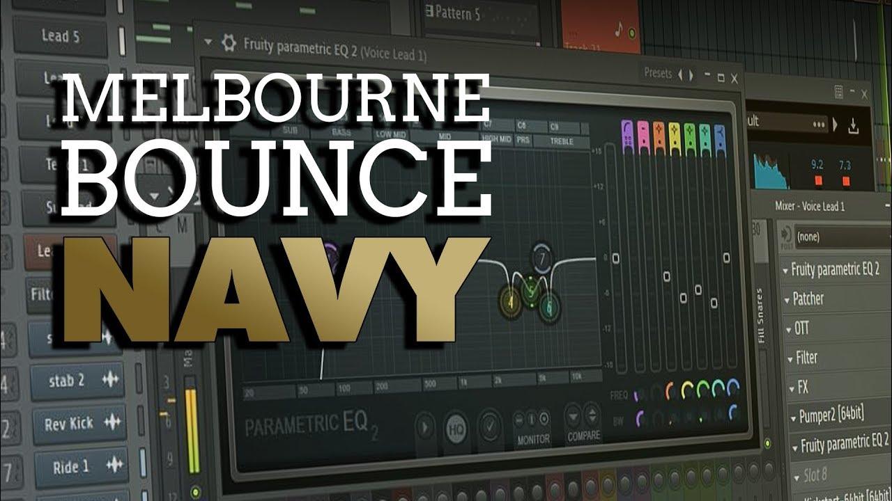 Melbourne Bounce Navy | W  A  Production