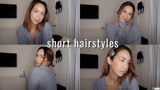 QUICK AND EASY SHORT HAIR STYLES