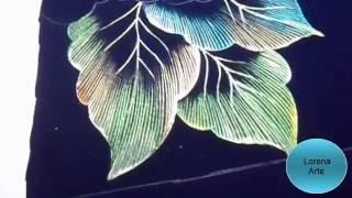 Cómo Pirograbar en Tela Hojas (Técnica Básica)