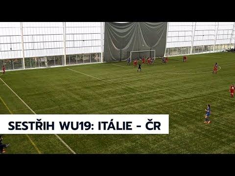 WU19: Itálie - Česká republika 2:2 (0:1)