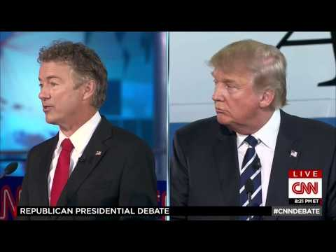 Donald Trump: Rand Paul shouldn't be on this stage and he's ugly