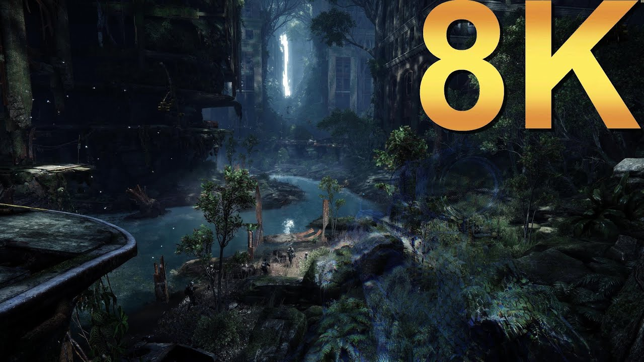 Crysis 3 8K Extreme Settings Gameplay High Resolution PC Gaming 4K | 5K |  8K and Beyond