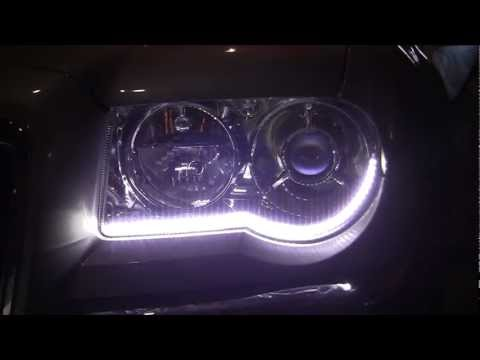 Chrysler 300c LED DRL install