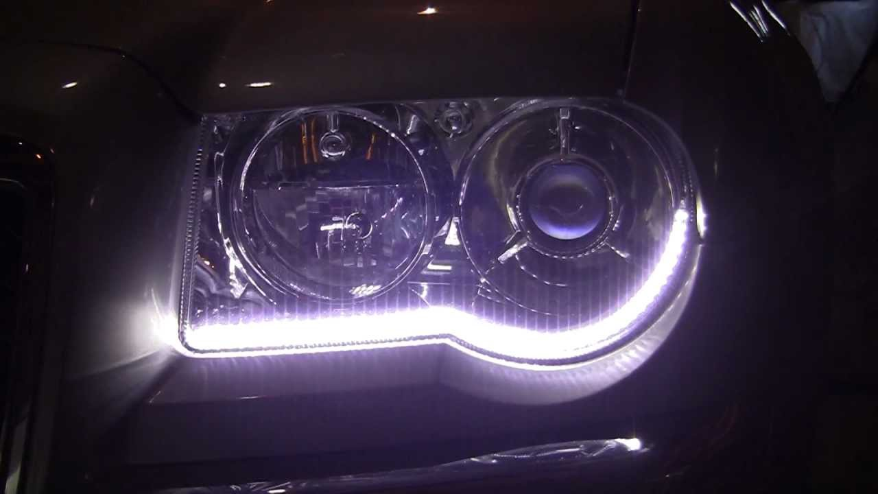 Chrysler 300c Led Drl Install Youtube