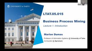 Business Process Mining Course - Lecture 1: Introduction