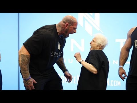 Grandma Heckles Bodybuilders Part 2 | Ross Smith