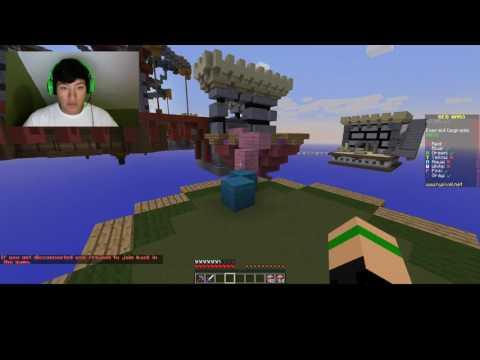 Minecraft : Bed Wars | Hacker Inbound!!