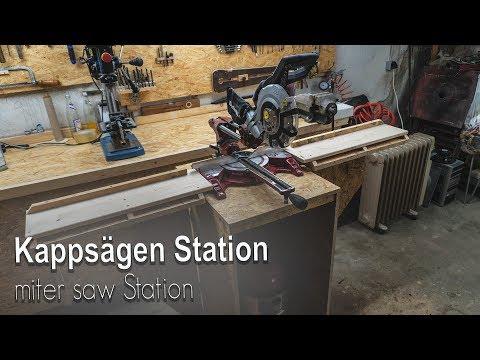 Kappsägen Station Selber Bauen [  miter saw Station ]