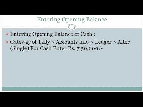 09 | Creating Bank Account Ledger
