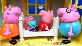 CUENTO CON MAMA Y PEPPA PIG PIERDEN A BEBE GEORGE POR LA CASA